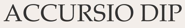 Accursio DIP:  nueva web – febrero 2015