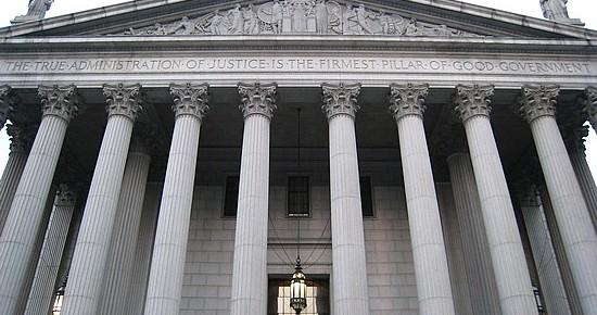 La buena administración de la Justicia está escrita en letras de granito