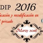 POST DESCODIFICACION MARZO 2016